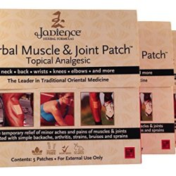 3 Pack Jadience Muscle & Joint Pain Relief Patch