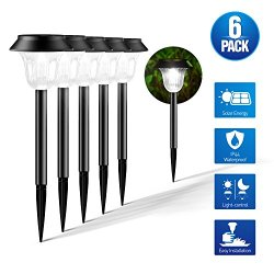 VegasDoggy Outdoor, Set of 6 Solar Lights