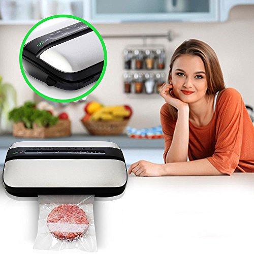 NutriChef Automatic Handheld Vacuum Sealer Machine