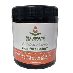 Comfort Balm Hemp Oil Salve 240 mg Fast Muscle
