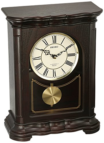 Seiko ' Mantel-Musical' Wood Shelf Clock, Color