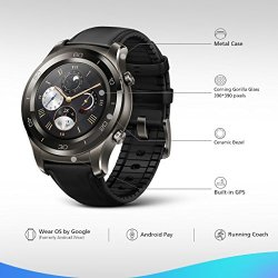 Huawei Watch 2 Classic Smartwatch - Ceramic Bezel
