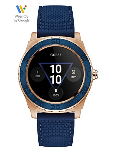 GUESS Men's Stainless Steel Android Wear Touch Screen