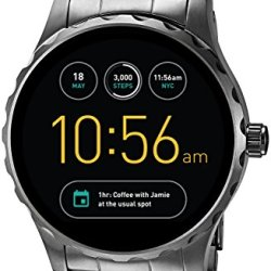 Fossil Q Marshal Gen 2 Smoke Stainless Steel Touchscreen