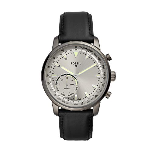 Fossil Men's Goodwin Stainless Steel and Leather