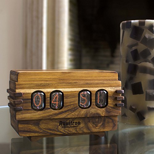 The Unique Nixie Clock | Vacuum Tube Alarm Clock