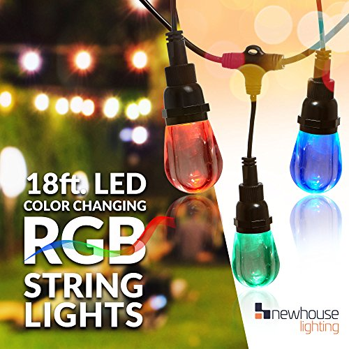 Newhouse Lighting Outdoor LED Color Changing