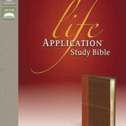NIV, Life Application Study Bible, Leathersoft