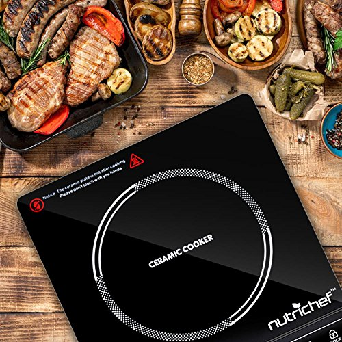 NutriChef Countertop Burner, Infrared Cooktop