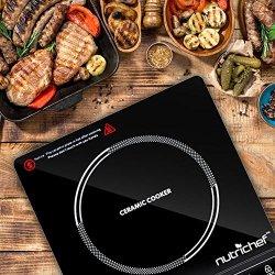 NutriChef Countertop Burner, Infrared Cooktop