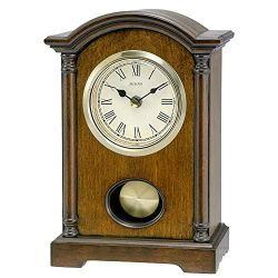 Bulova Dalton Chiming Pendulum Table Clock