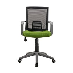 Techni Mobili Home Office Chair, Green