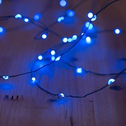 Solar Powered String Lights, 100 LED Copper Wire Lights