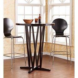 "Southern Enterprises Devon 43"" Bar Table, Dark Espresso"