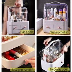 FAZHEN dust-Proof Makeup Organizer, Cosmetic and Jewelry