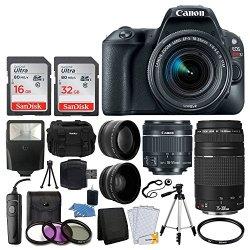 Canon EOS Rebel SL2 Digital SLR Camera