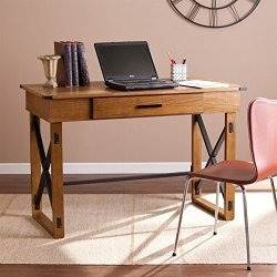 Southern Enterprises Canton Lift-Top Desk in Brown