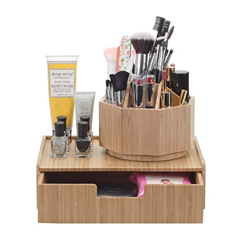 MobileVision Bamboo Makeup Drawer