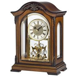 Bulova Durant Chiming Clock, Walnut