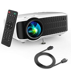 Movie Projector, DBPOWER 2019 Newest LCD Video Projector