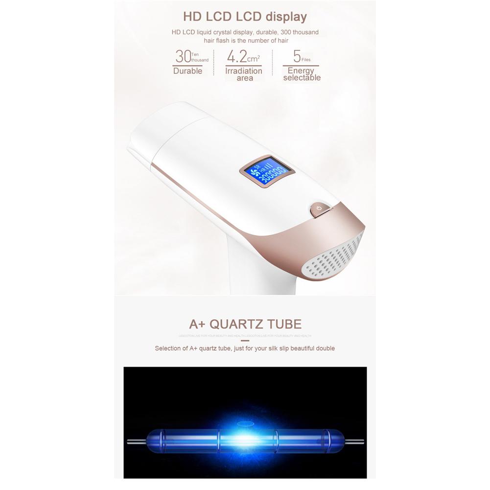 Portable Handheld IPL Laser Hair Removal Machine Epilator Permanent Trimmer Electric Depilador For Adult Body Face 9