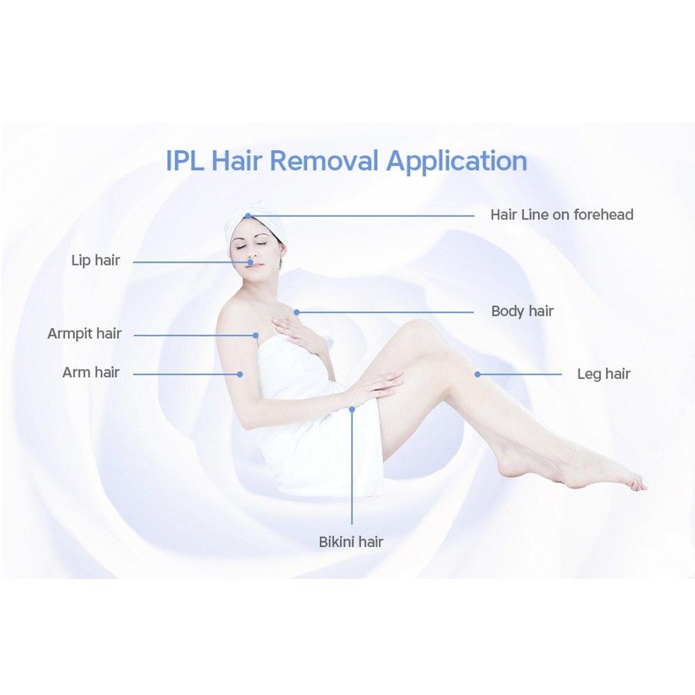 Lescolton 2in1 IPL Laser Epilator Hair Removal Laser Hair Removal Machine Permanent Bikini Trimmer Electric depilador a laser 16