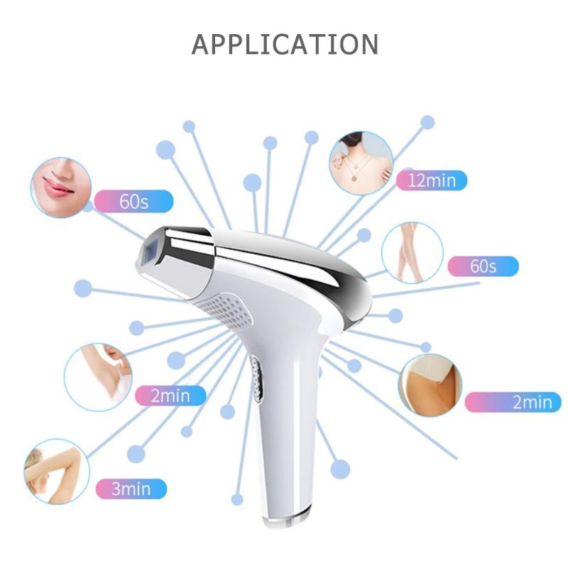 LCD Display 5 Modes Laser Hair Removal Machine Permanent Body Hair Epilator 8