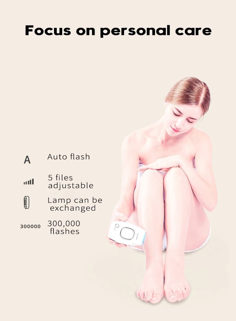 professional permanent IPL epilator 300000 flas laser hair removal electric photo women painless threading hair remover machine 19
