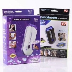 USB Rechargeable Epilator Finishing Touch Hair Remover