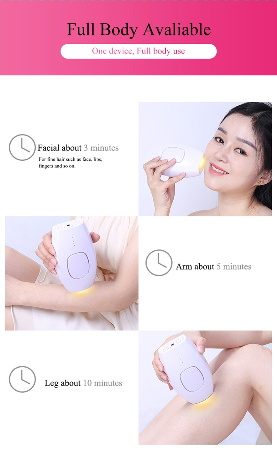 600000 flash professional permanent IPL epilator laser hair removal electric photo women painless threading hair remover machine 14