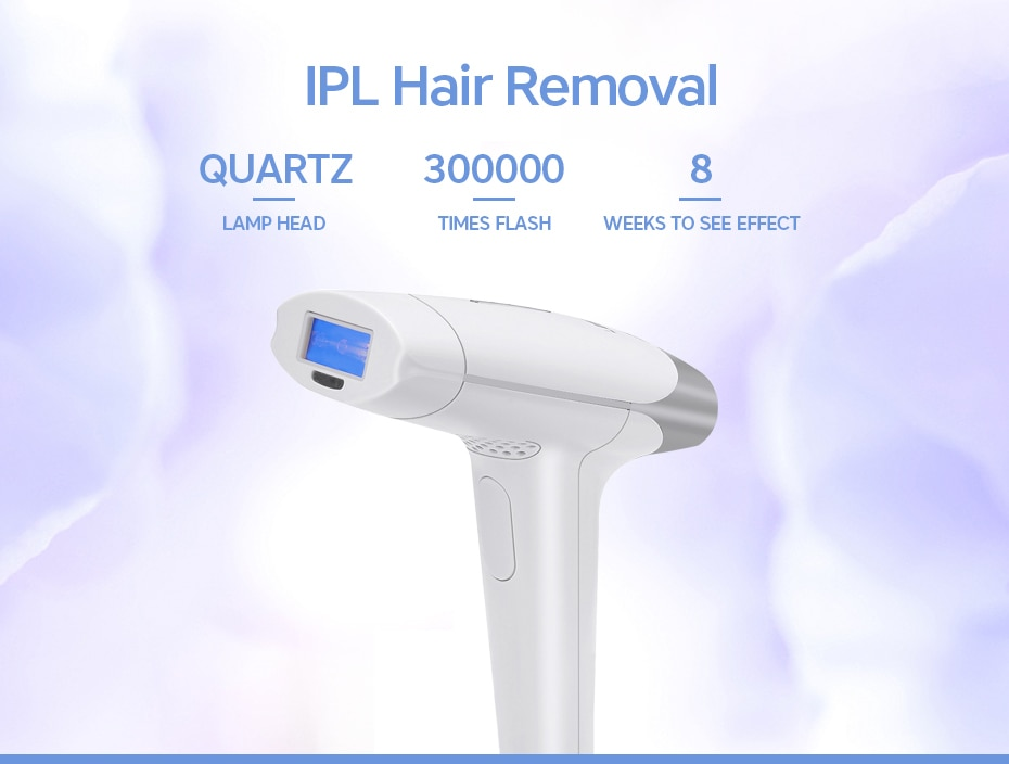 Droshipping 2in1 IPL Laser Hair Removal Machine Laser Epilator Hair Removal Permanent Bikini Trimmer Electric depilador a laser 9
