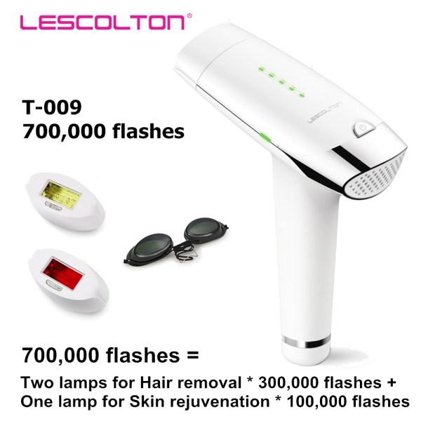Laser Hair Removal Permanent IPL Laser Hair Removal Machine For Facial Body Armpit Underarm Bikini Leg Laser Epilator Depilador