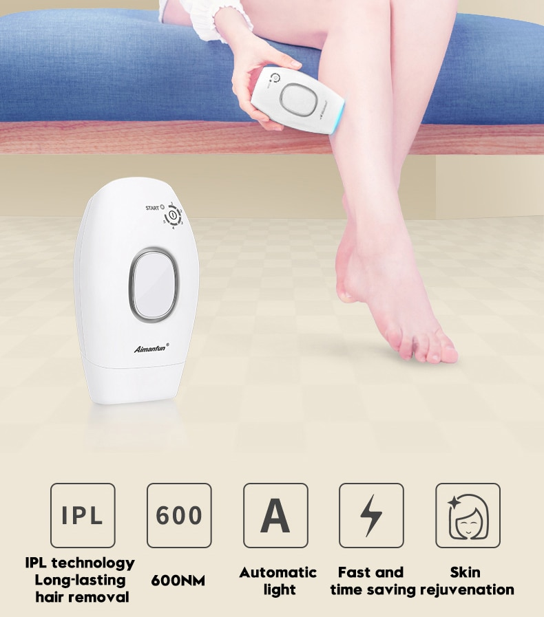 professional permanent IPL epilator 300000 flas laser hair removal electric photo women painless threading hair remover machine 3