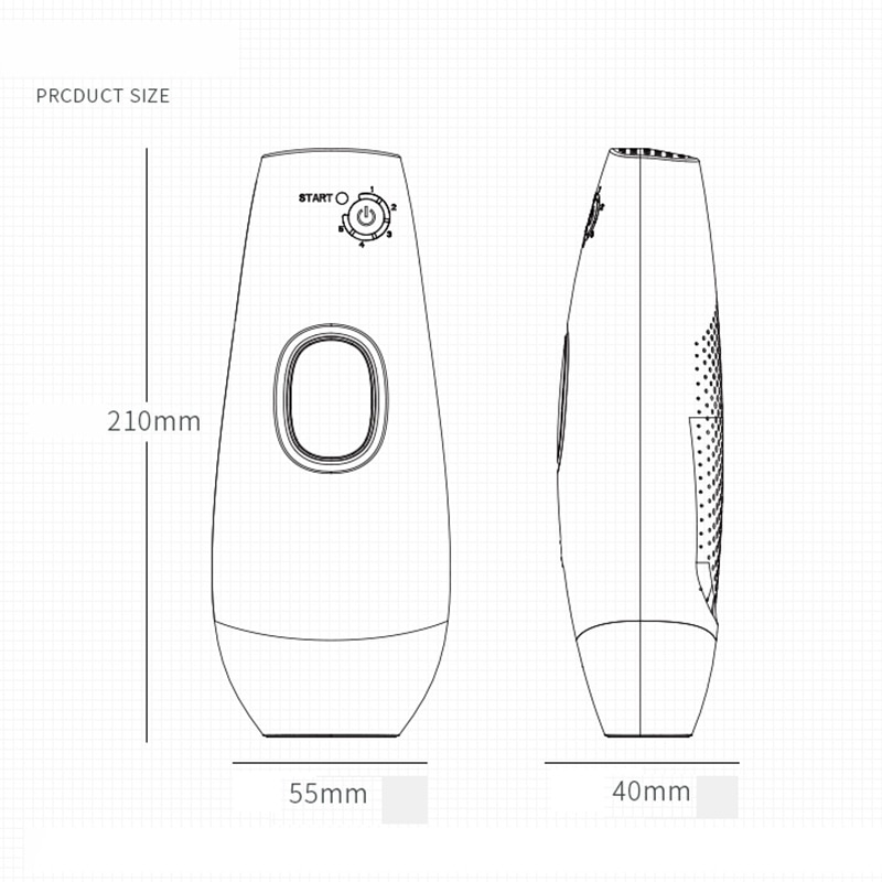 Laser Depilator IPL Epilator Permanent Hair Removal Touch Body Leg Bikini Trimmer Photoepilator For Women 14