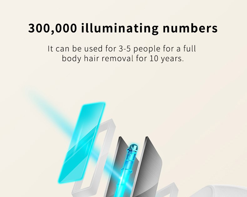 professional permanent IPL epilator 300000 flas laser hair removal electric photo women painless threading hair remover machine 13