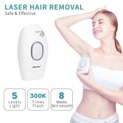 Professional permanent IPL epilator 300000 flas laser hair removal electric