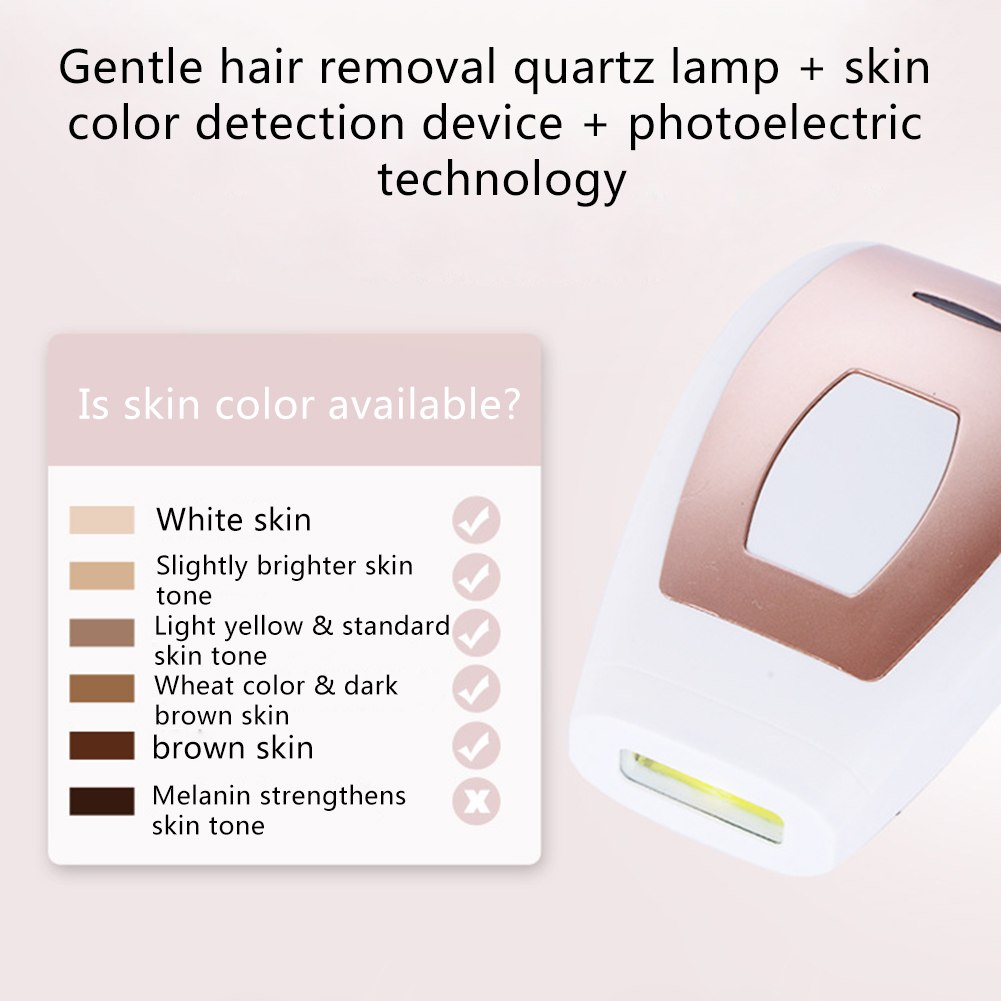 Laser hair removal instrument Freezing epilator Unisex body underarm leg hair lip hair 7