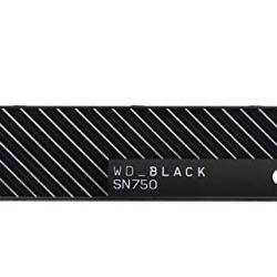 WD Black 500GB NVMe Internal Gaming SSD with Heatsink