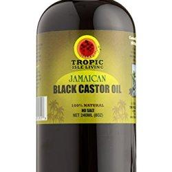 Tropic Isle Living Jamaican Black Castor Oil PET Bottle