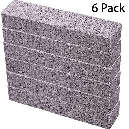 6 Pieces Pumice Sticks Pumice Scouring Pad for Cleaning Pool