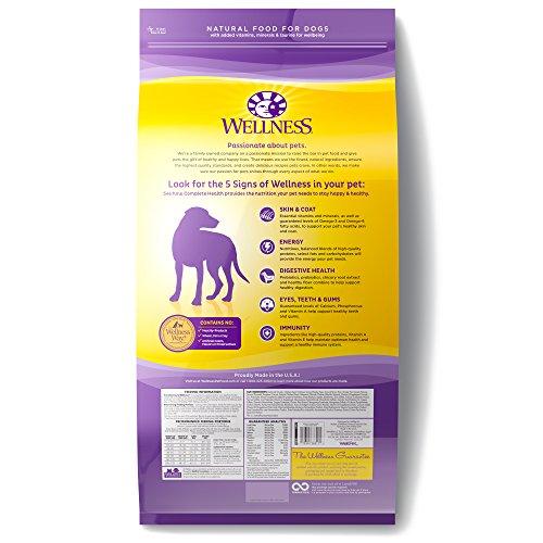 Wellness Complete Health Natural Dry Dog Food Wellness Complete Health Natural Dry Dog Food, Chicken & Oatmeal, 30-Pound Bag.