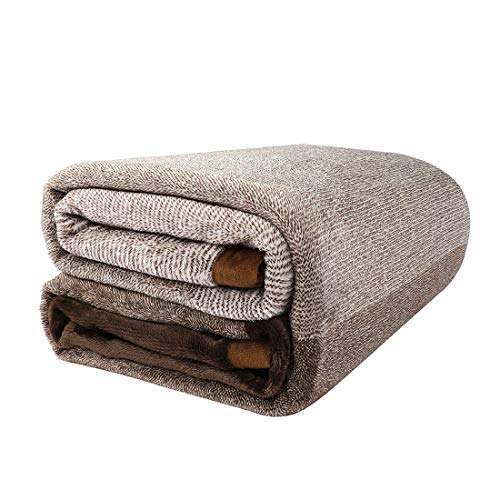 PICCOCASA Flannel Fleece Blanket Queen Size Soft Warm Fuzzy Microfiber