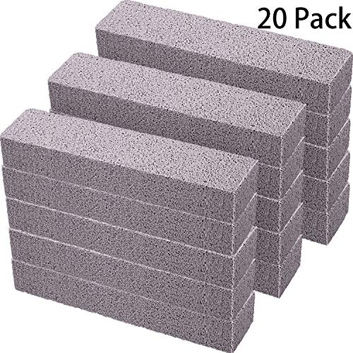 20 Pack Pumice Stones for Cleaning - Pumice Scouring Pad
