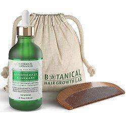 Anti Hair Loss Scalp Treatment Alopecia Postpartum DHT Blocker Lemongrass