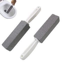 Comfun Toilet Bowl Pumice Cleaning Stone with Handle Stains
