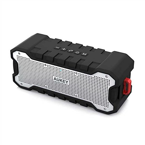 AUKEY Bluetooth Speaker with Outdoor Loud Sound, Waterproof IPX7