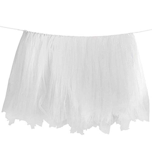 Table Clamp - Birthday Wedding Baby Shower Table Tulle Tutu Skirt Decoration