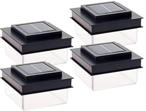GreenLighting Translucent 12 Lumen LED Solar Powered Post Cap Light