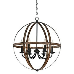 Westinghouse Lighting Stella Mira Six-Light Indoor Chandelier
