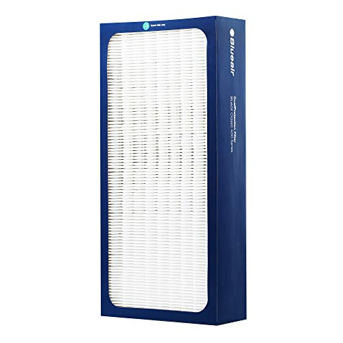 Blueair Classic Replacement Filter, 400 Series Genuine DualProtection Filter, VOCs, Smoke, Pollen, Dust, Bacteria; 402, 403, 410, 450E, 455EB, 405, 480i